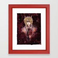 foris to heart Framed Art Print