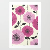 PATTERNFLOWER 1 Art Print