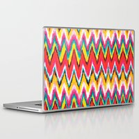 chevron Laptop & iPad Skins featuring Chevron by Aimee St Hill