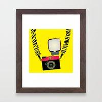 Diana Mini Framed Art Print