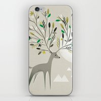Deer Forest iPhone & iPod Skin