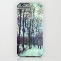 iPhone Cases featuring Winter Stroll by Dirk Wuestenhagen Imagery