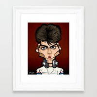 Glen Framed Art Print