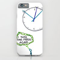 Shattered Frozen Time iPhone 6 Slim Case
