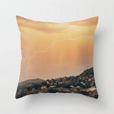 HEAT STRIKE Throw Pillow