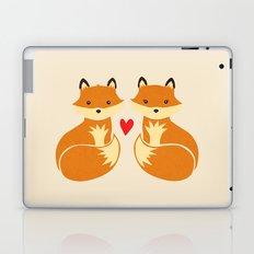 Love foxes Laptop & iPad Skin