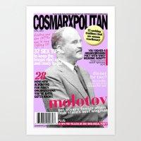 COSMARXPOLITAN, Issue 17 Art Print