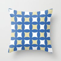 Floor tile 4 Throw Pillow