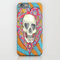 iPhone & iPod Case featuring Skulladelia by ronnie mcneil