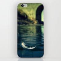 Lone sailor iPhone & iPod Skin