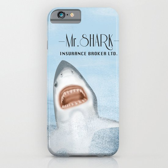 Mr. Shark Insurance Broker Ltd. iPhone & iPod Case