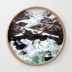 Sea and Mountains Wall Clock