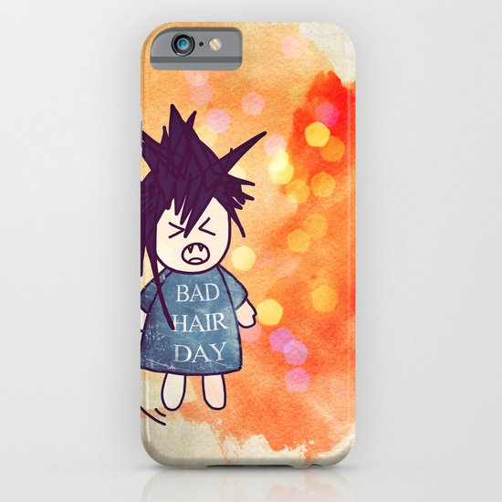 Bad Hair Day iPhone & iPod Case