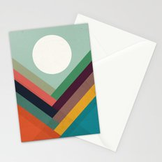 Rows of valleys Stationery Cards