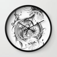 Snail Wall Clock