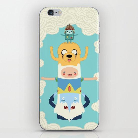 Adventure Totem iPhone & iPod Skin