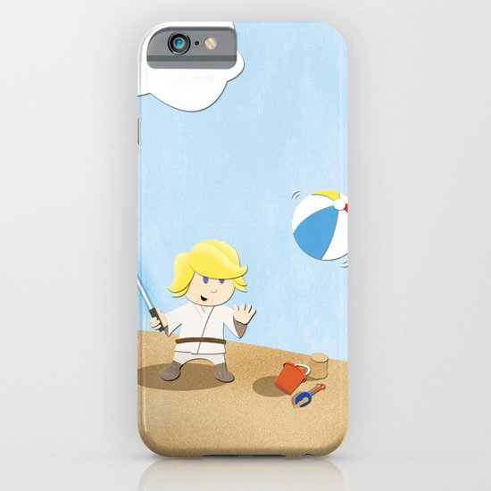 SW Kids - Luke at the Beach iPhone & iPod Case