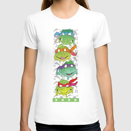 Teenage (a Little Too Mutated) Ninja Turtles T-shirt