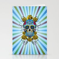 Sugar Skull- Day Of The … Stationery Cards