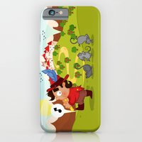 iPhone & iPod Case featuring The Pied Piper of Hamelin  by Alapapaju