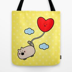 Kimmi's Love is 0n Cloud 9 Tote Bag