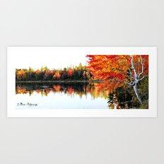 Autumn Capture Art Print