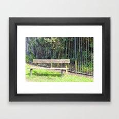 sefton park part 3 Framed Art Print