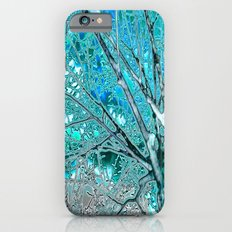 Digital Tree Cyan iPhone 6 Slim Case