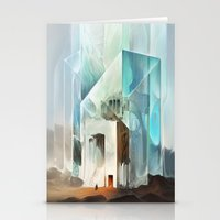 The Crystal-Flesh Hermit… Stationery Cards
