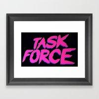 Task Force Framed Art Print