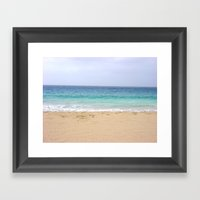 Cape Verde Island Framed Art Print