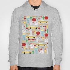 New York Pattern Hoody