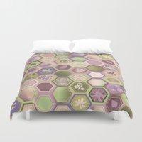 Polygon pattern Duvet Cover