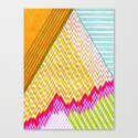 Isometric Harlequin #6 Canvas Print