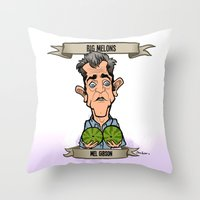 Big Melons (Mel Gibson) Throw Pillow