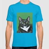 Kato Mens Fitted Tee Teal SMALL