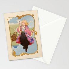 The Boy Who Drank Stars Stationery Cards