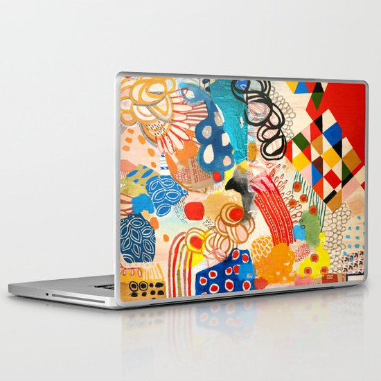 Wallpaper and Diamonds Part I Laptop & iPad Skin