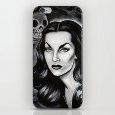 Vampira : The Original Glamour Ghoul iPhone & iPod Skin