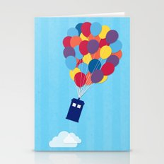 Up and Away - Doctor Who Stationery Cards