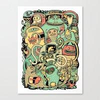 Grand Ménage Canvas Print