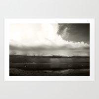 Thar Be A Storm Brewin' Art Print