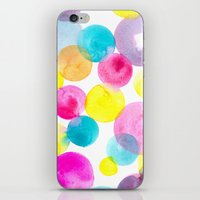 Confetti Paint iPhone & iPod Skin