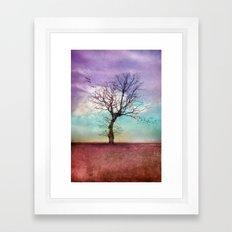 ATMOSPHERIC TREE | Early Morning Framed Art Print