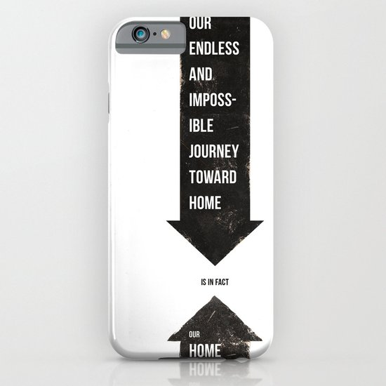 Endless Journey Home iPhone & iPod Case