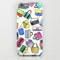 iPhone & iPod Case featuring colored bags obsession by Federico Faggion
