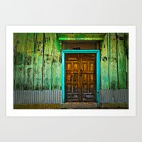 Doorways II Art Print