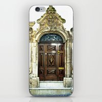 Italian door iPhone & iPod Skin