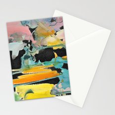 Abstract watercolour Stationery Cards
