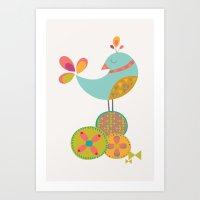 Lovely Bird Art Print